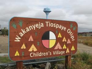 Children's Village in Pine Ridge