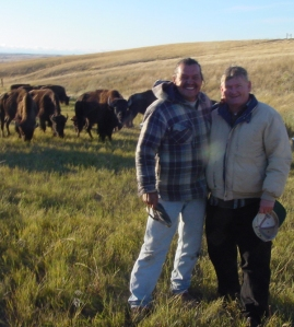 Henry and Richard at the Pine Ridge Reservation