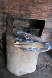 old cookstove El Salvador