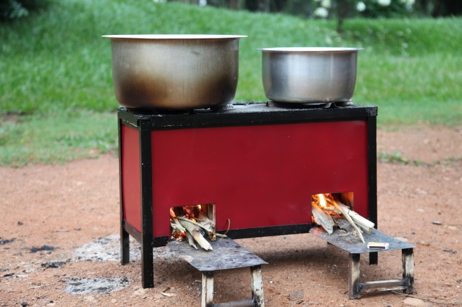 Uganda clean cookstove project