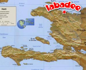 Labadee, Haiti map