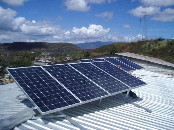 solar electricity Honduras