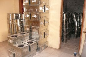 Zanmi Pye Bwa clean cookstove inventory