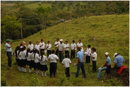 environmental education Honduras 2