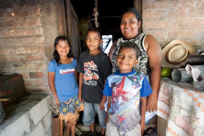 Gutemalan family