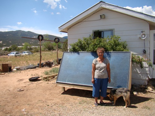 solar heater_ute mountain ute tribe