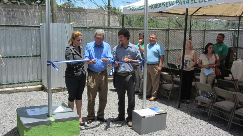 honduras renewable energy training and demonstration center