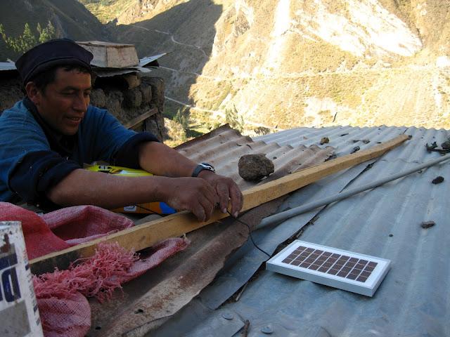Ichocha Peru solar