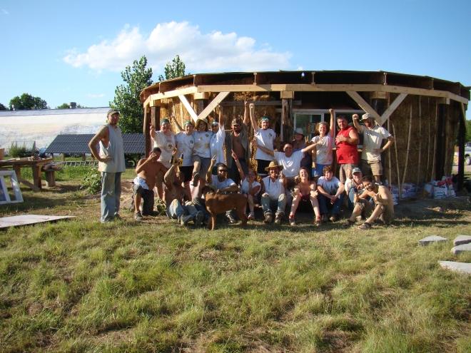straw bale home_Pine Ridge