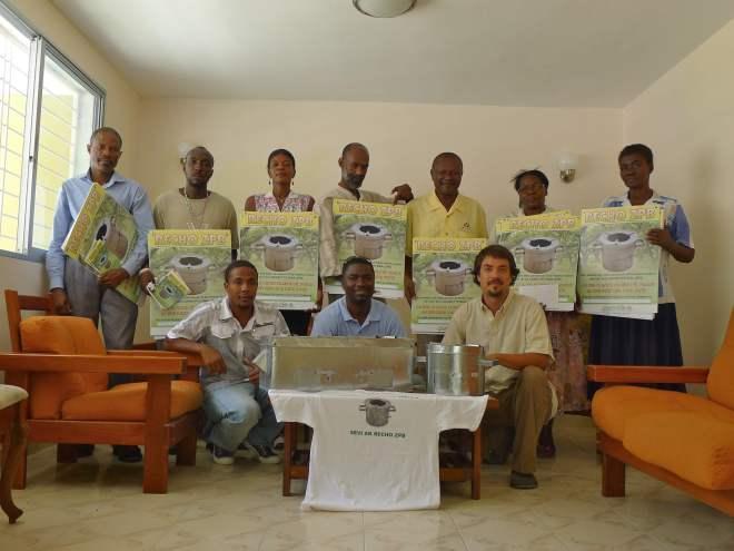 clean cookstove vendor forum_haiti