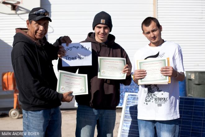 solar energy trainees