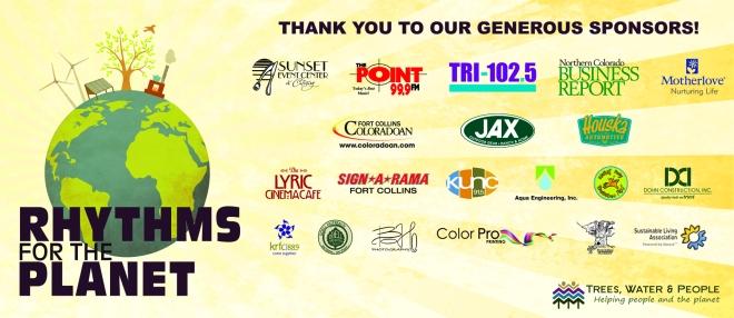 Rhythms for the Planet Sponsor Banner 2012