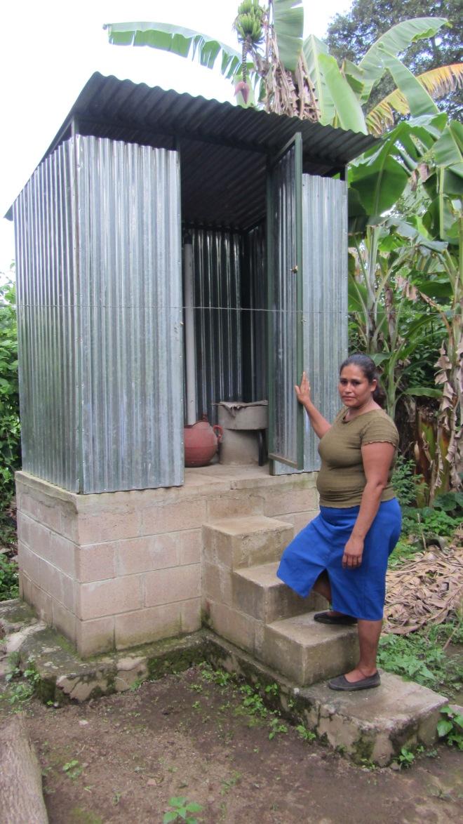dry composting pit latrine
