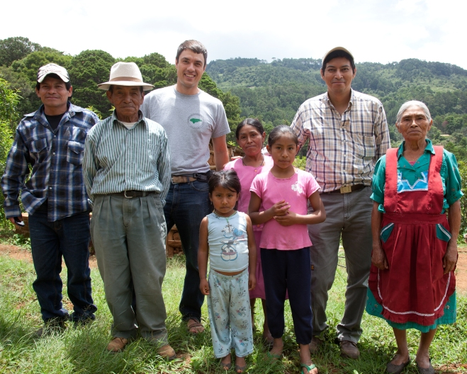 family in Honduras