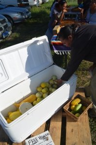 Pine Ridge vegetable giveaway