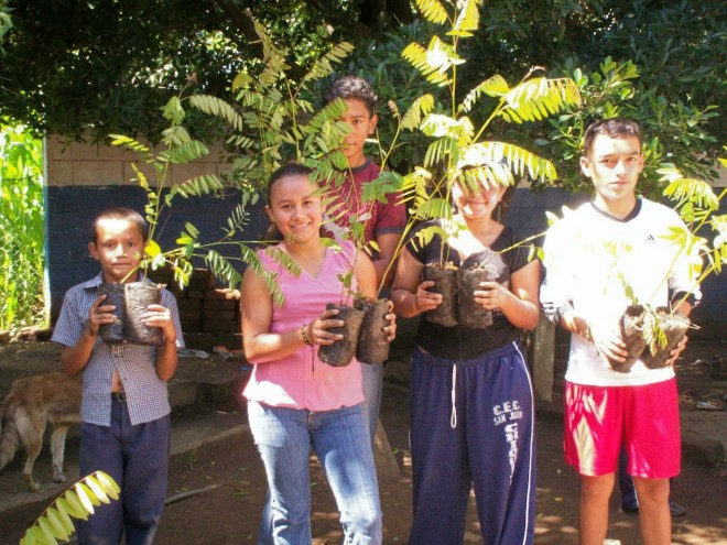 Since partnering with TWP in 2012, Green Ride has supported the planting of 2,646 trees in El Salvador.