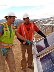 solar garden Lafayette Colorado