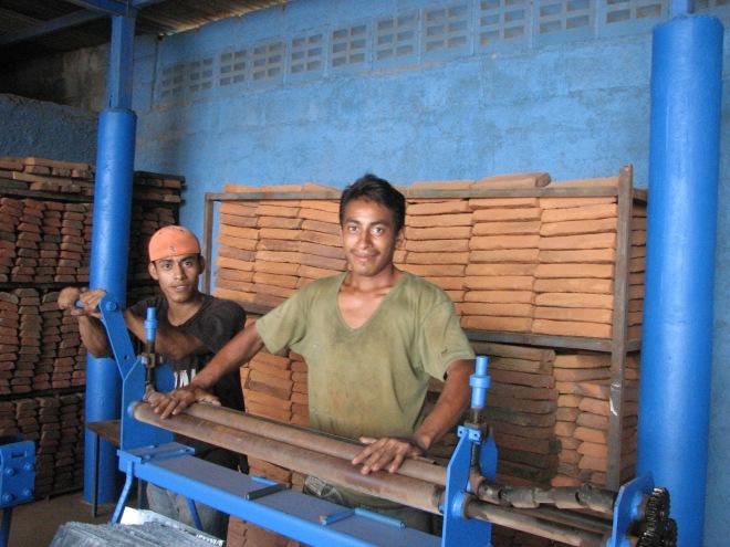 Nicaragua cookstove factory