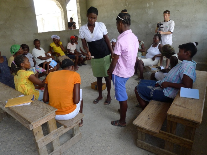 Self Help Savings Group Haiti