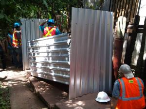 building latrine_Colonia Izaguirre Tegucigalpa