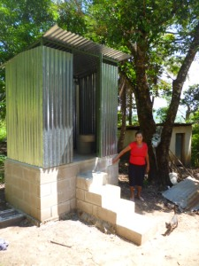 new latrine composting pit latrine