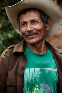 Honduran farmer