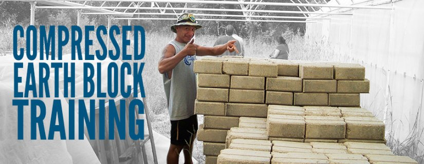 Upcoming Training: Building with Compressed Earth Block