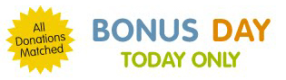 GlobalGiving Bonus Day