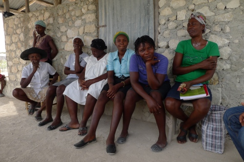 Haitian women farmers