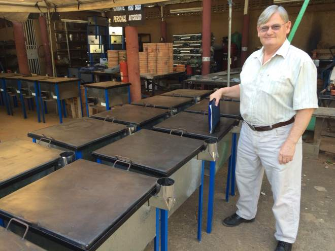 Nicaragua clean cookstove factory