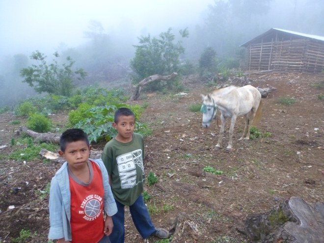 Honduran boys
