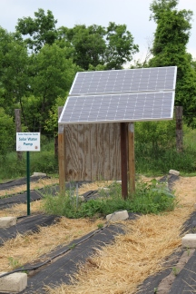 Solar Water Pump at Solar Warrior Farm