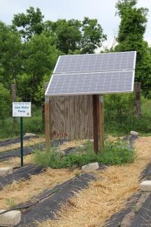 Solar Water Pump at Solar Warrior Farm