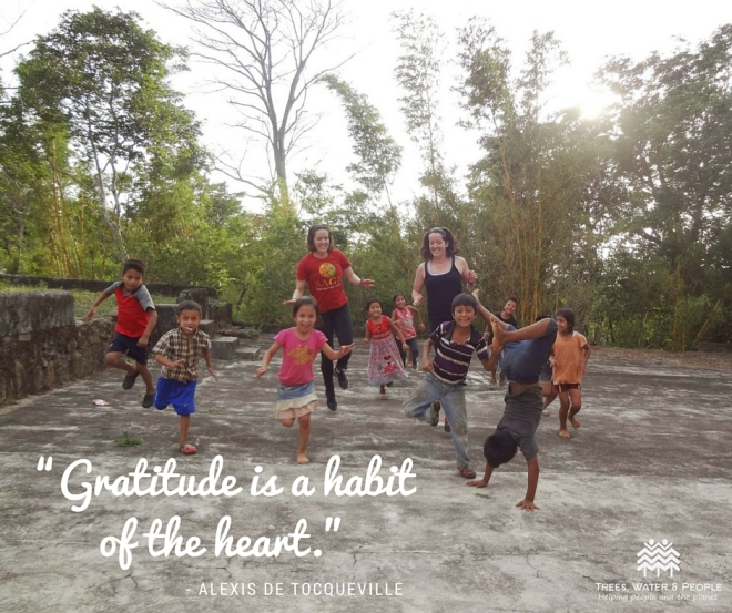 Gratitude is a habit of the heart