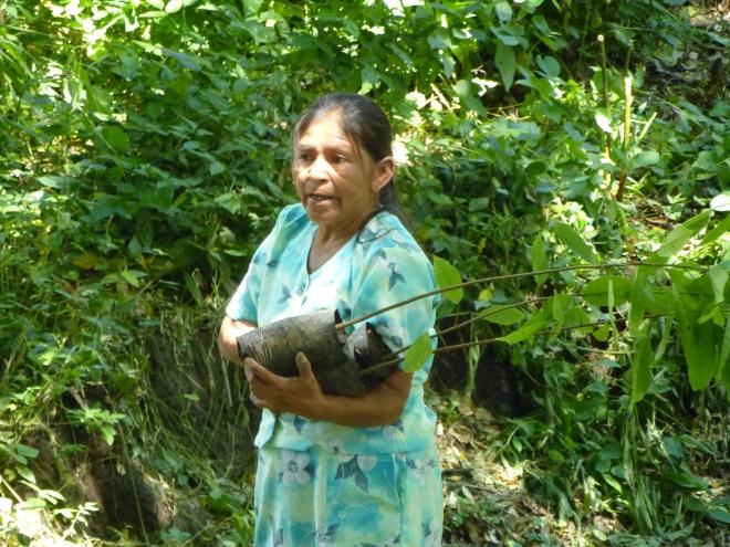 community tree planting day El Salvador