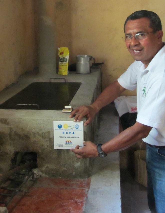 Armando w ECPA Tile on Justa clean stove