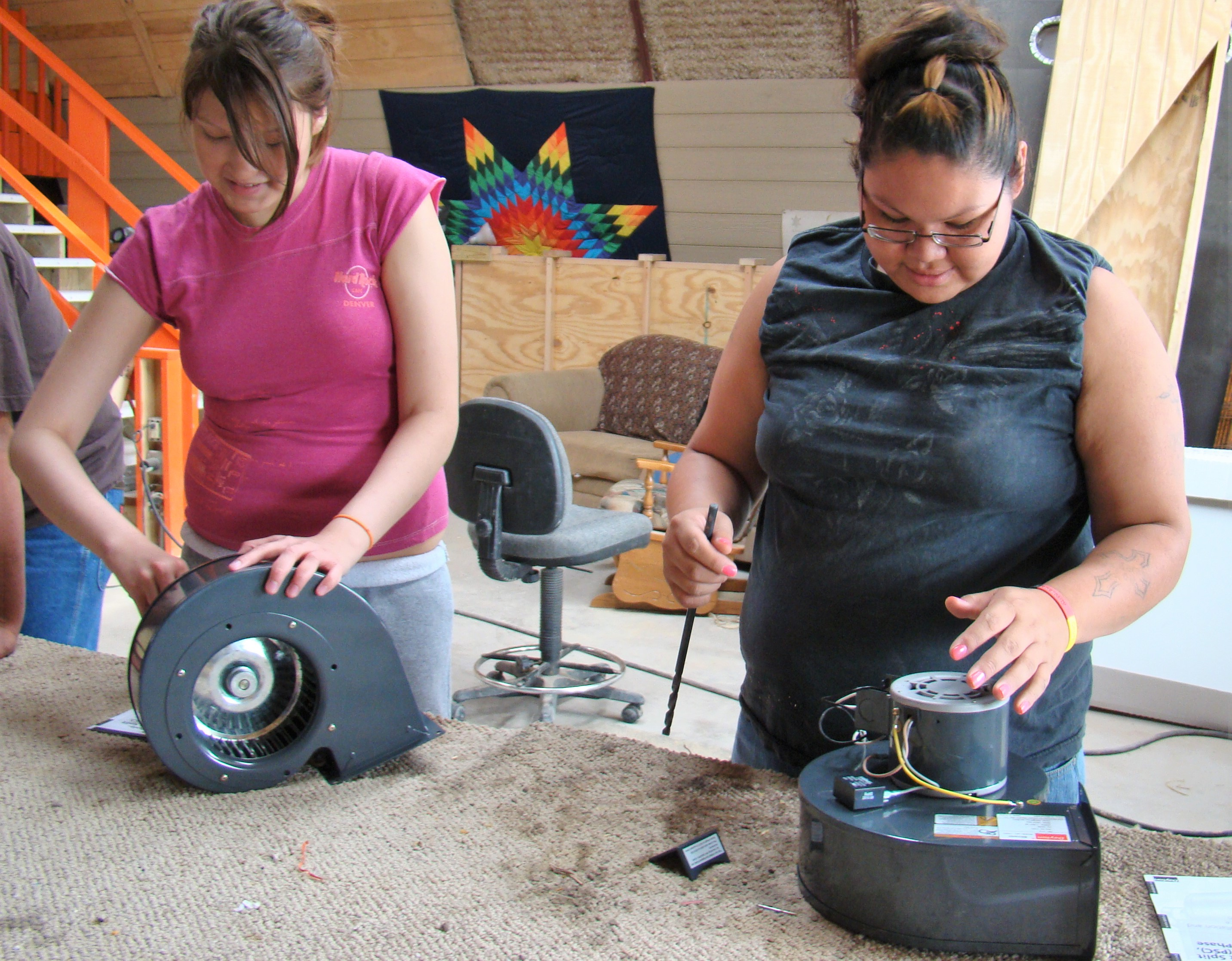 Solar Women Warrior Scholarship winners
