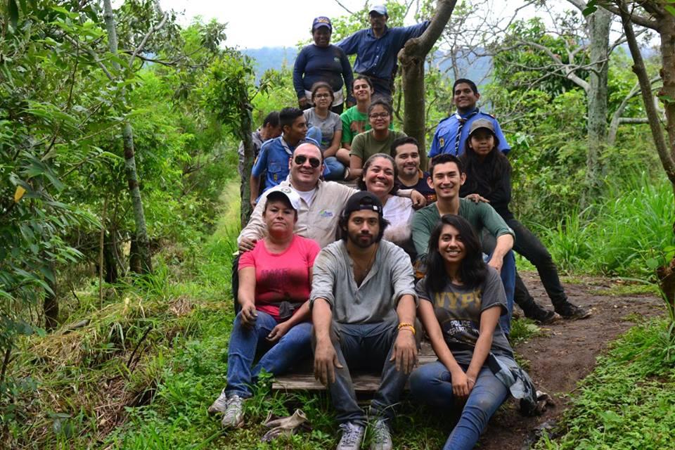 Volunteers in El Salvador