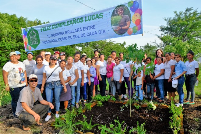 Lucas' Tree Planting at NICFEC