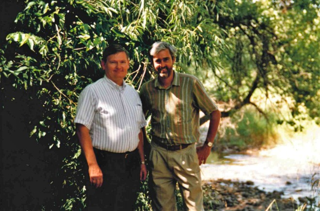 Richard Fox and Stuart Conway 1998